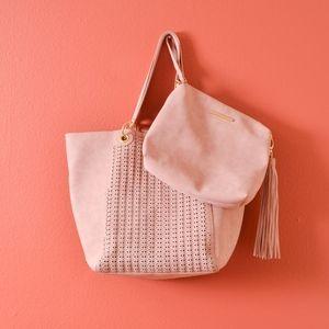Steve Madden BWilde Tote pouch Bag Blush